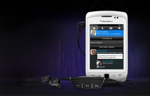 BlackBerry annuncia Bbm music