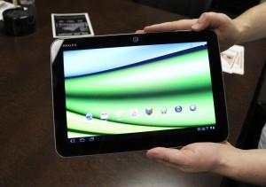 Toshiba Excite X10 il tablet più sottile al mondo