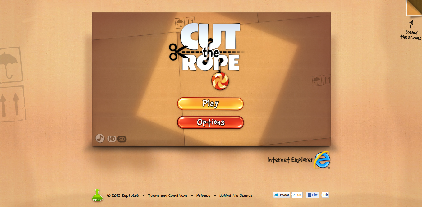 Come giocare a Cut the Rope sul PC