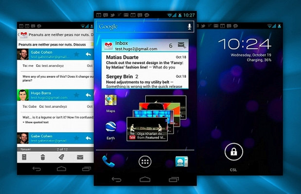Android Ice Cream Sandwich su Desire HD, Desire Z, Desire S e Incredible S