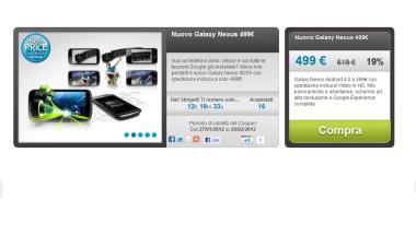 Samsung Galaxy Nexus A 499€
