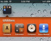 Cambiare colore allo sfondo delle cartelle del nostro iphone for Cambiare il percorso dei backup del tuo iphone