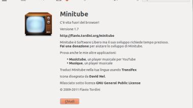 Installiamo Minitube 1.7 su Ubuntu