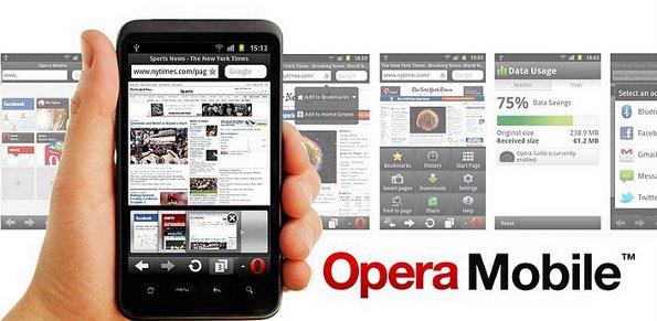 Opera Mobile Release 11.5.4