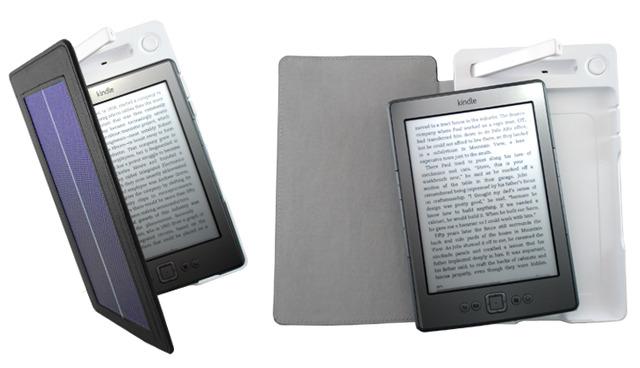 Kindle si ricarica con la luce solare