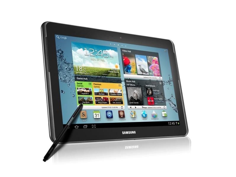 Al MWC Samsung presenta anche il Galaxy Note 10.1