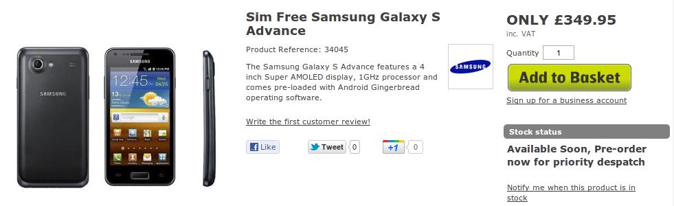 samsung-galaxy-s-advance-vendita