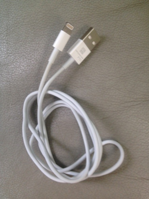 Prime immagini del presunto nuovo cavo Apple con il piccolo connettore dock