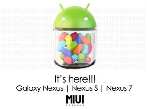 Installazione della Rom MIUI Jelly Bean su Nexus, Nexus S e Nexus 7