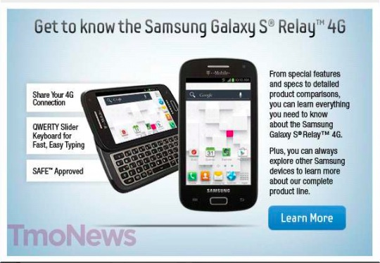 Documenti interni Samsung rivelano il nuovo Galaxy S Relay 4G