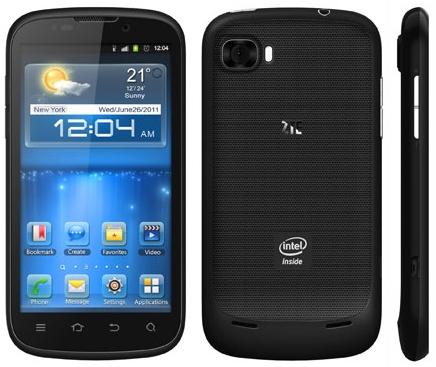 IFA 2012: ZTE annuncia il Grand X IN con processore Intel Atom