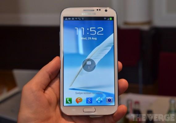 IFA 2012: Samsung presenta il Galaxy Note 2 e Ativ S