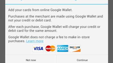 I pagamenti NFC di Google Wallet introducono la compatibilità con i bancomat
