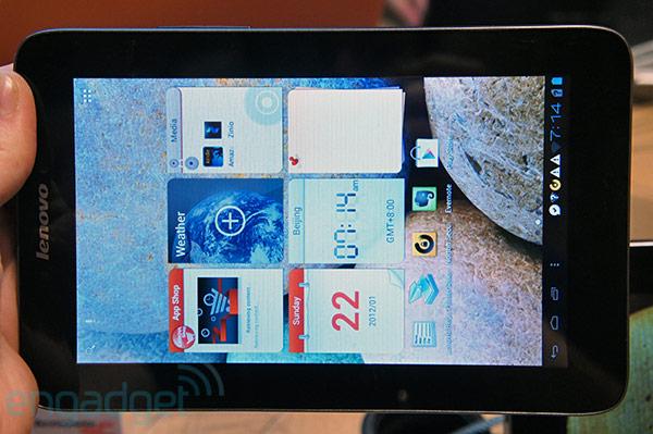 IFA 2012: Lenovo presenta i nuovi tablet IdeaTab A2107, A2109 e S2110