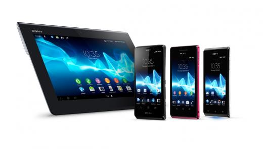 IFA 2012: Sony ufficializza Xperia T, Xperia V e Xperia J e Xperia Tablet S