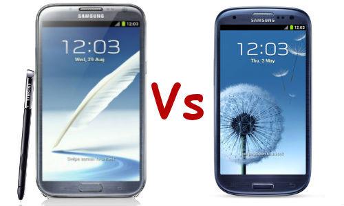 IFA 2012: ecco il primo scontro tra Samsung Galaxy S3 e Galaxy Note 2