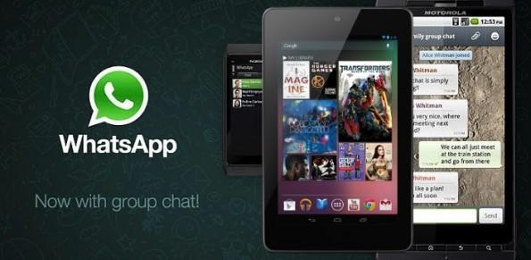 Come installare WhatsApp su Google Nexus 7