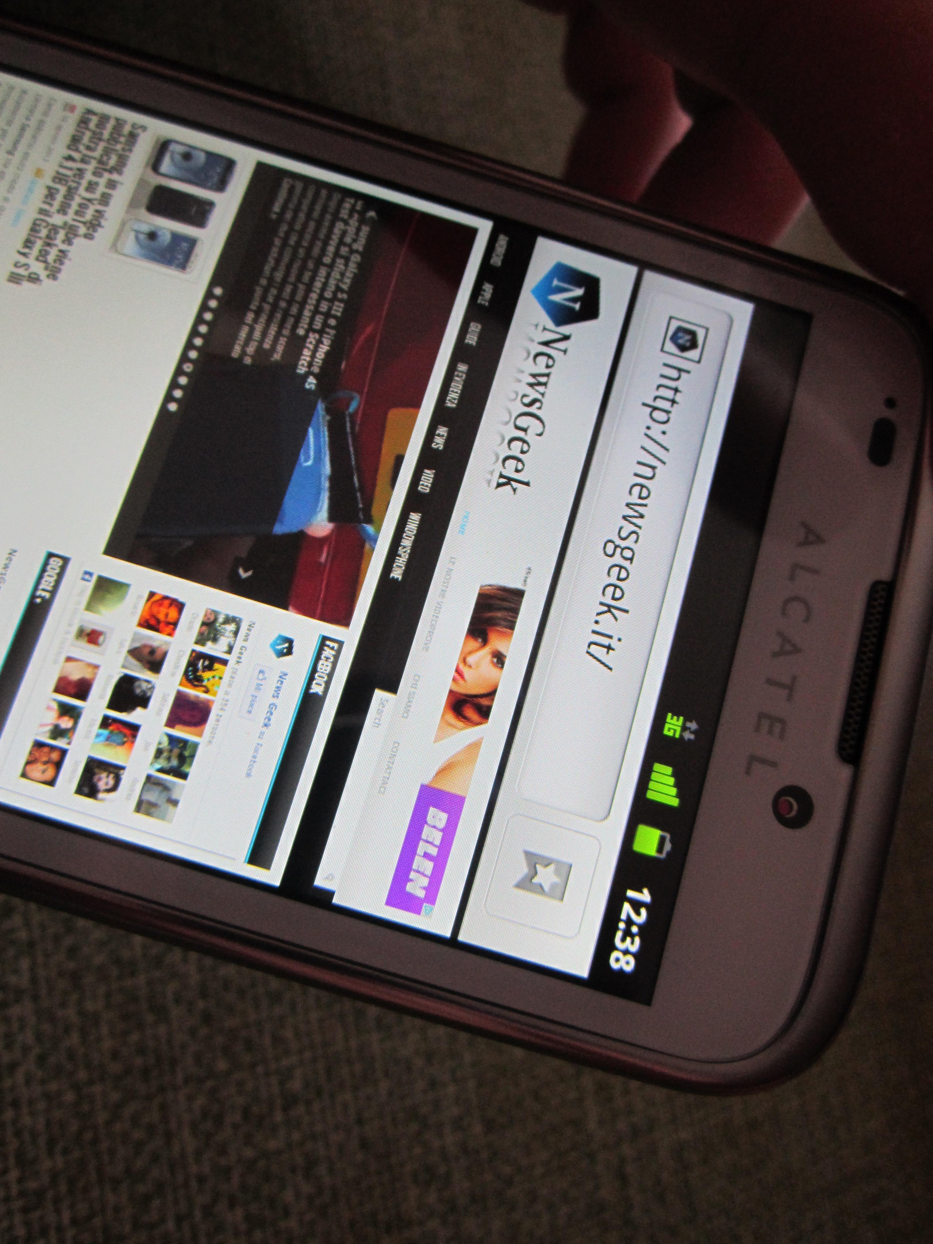 Alcatel One Touch 995: la nostra recensione