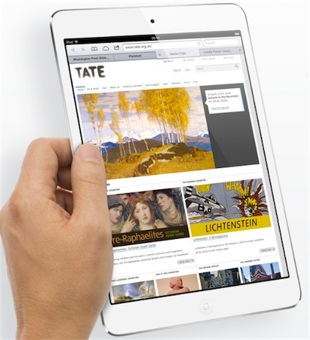 iPad Mini con nuovo Retina display in arrivo nel 2013