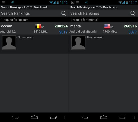 Motorola Occam e Manta molto più di semplici rumors