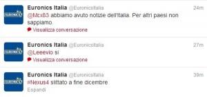 Nexus 4 in Italia solo a dicembre e nella versione da 16 GB