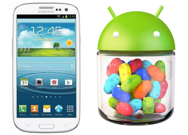 Arriva Android 4.3 anche per Samsung Galaxy S3