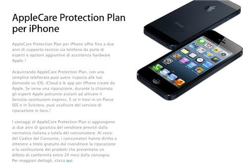 Garanzia sui prodotti Apple riconosciuta dall'azienda in 24 mesi