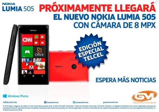 Nokia presenta in Messico il Lumia 505, smartphone entry level