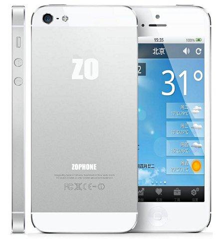 Arriva in vendita un simil iPhone 5 con sistema operativo Android
