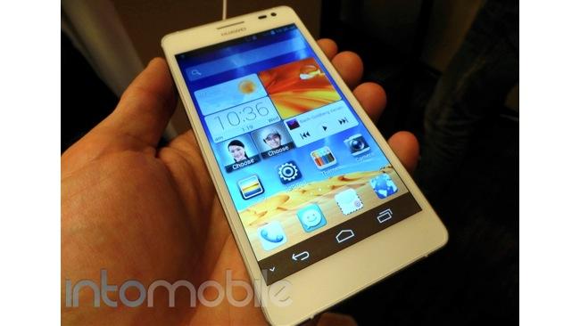 Ecco lo Huawei Ascend D2 al CES 2013