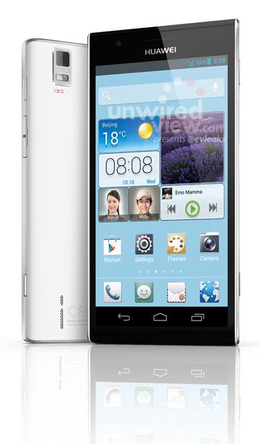 Huawei Ascend P2: ecco un altra immagine del nuovo smartphone