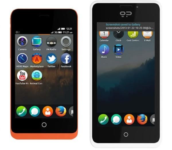 Keon e Peak ecco i nuovi smartphone con Firefox OS