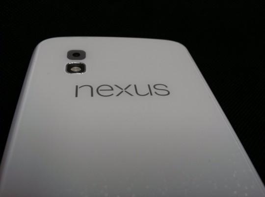 Nexus 4: prima foto della versione con colore bianco