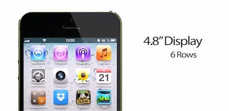iPhone da 4.8 pollici: compare in rete un nuovo concept