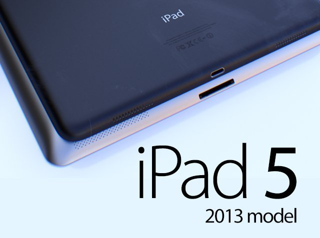 iPad 5: ecco un mockup molto simile all'iPad Mini