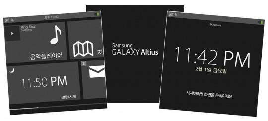 Samsung al lavoro su  un smartwatch Galaxy Altius