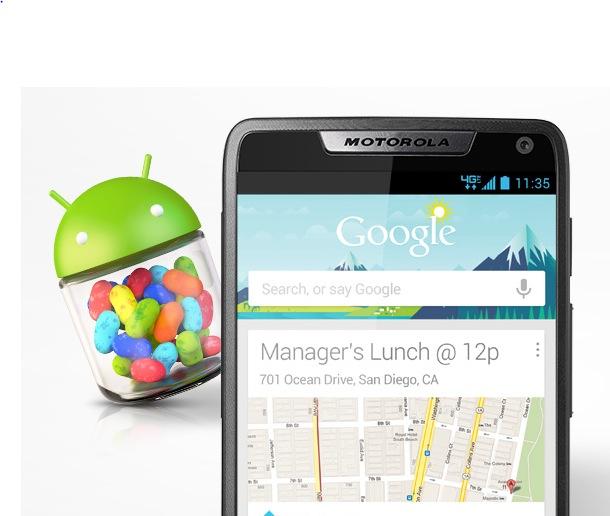 Motorola avvia i test per Jelly Bean su Droid Razr e Razr Maxx