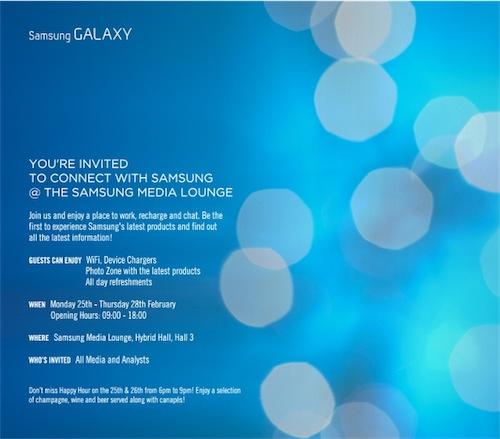 Samsung conferma: nuovi device in arrivo al MWC 2013