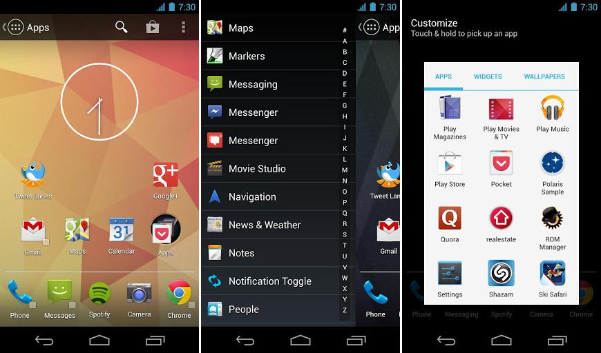 App Zone| Action Launcher si aggiorna alla 1.2.0: ecco le tantissime novità
