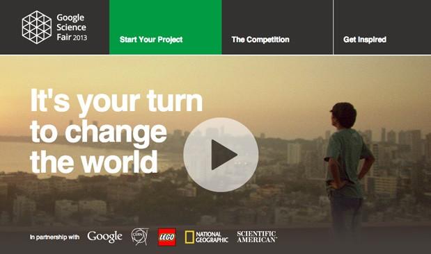 Eventi || Google Science Fair 2013,il futuro nelle mani dei giovani