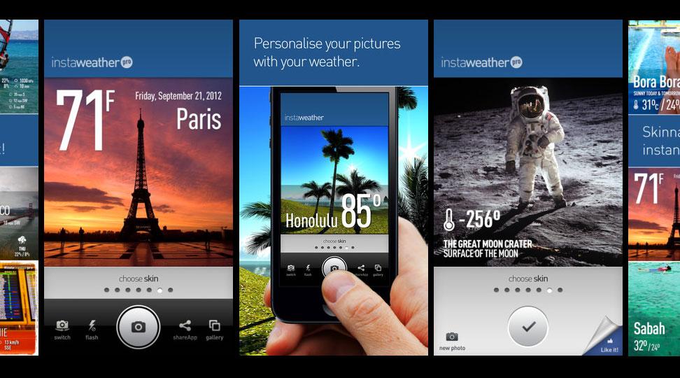App Zone| InstaWeather e InstaPlace (Finalmente) disponibili su Android