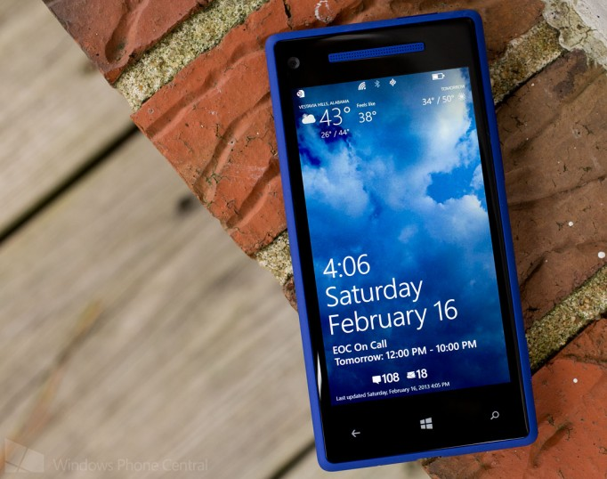 Live Weather Wallpaper per Windows Phone 8