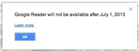 Google Reader: parte la petizione per evitarne la chiusura