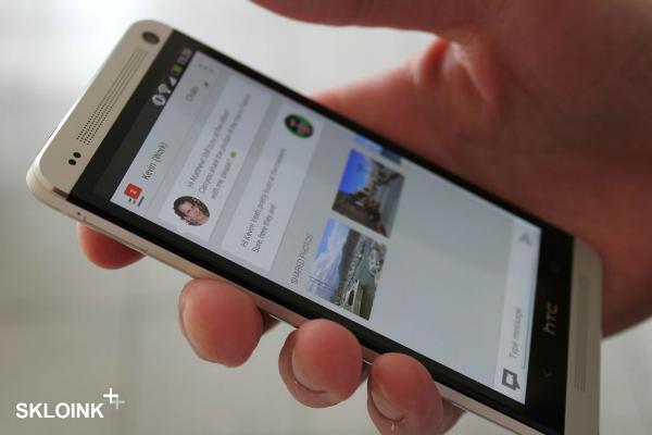 Google Babble mostrato in una presunta immagine reale