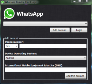 WhatsApp-client-PC