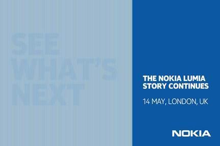 Nokia presenterà il prossimo Lumia il 14 maggio