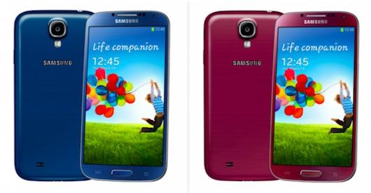 Samsung Galaxy S4: con i 10 milioni di device venduti arrivano nuove colorazioni