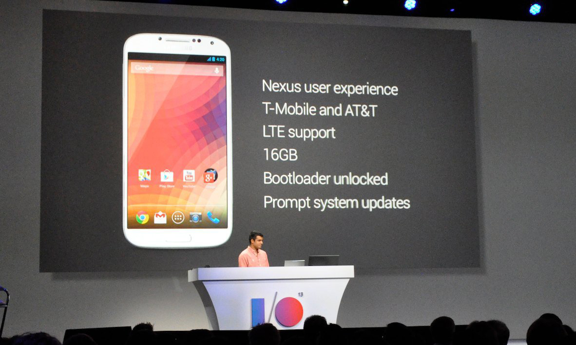 Il nome in codice del Galaxy S4 Google Edition è i90505G