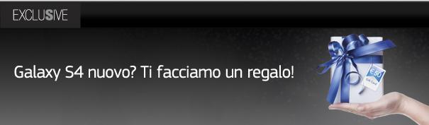 Samsung Italia fa un regalo a chi acquista un Galaxy S4