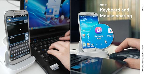 Samsung SideSync: controlliamo lo smartphone con il PC
